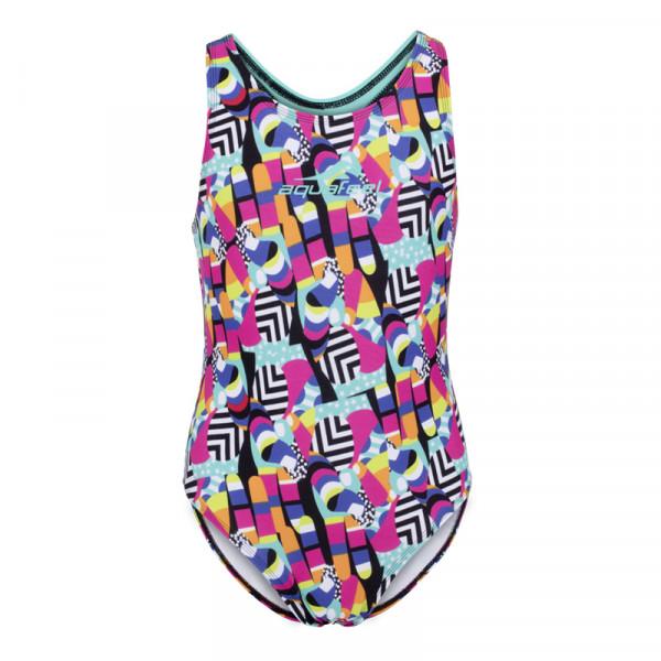 Badeanzug Mädchen bunt