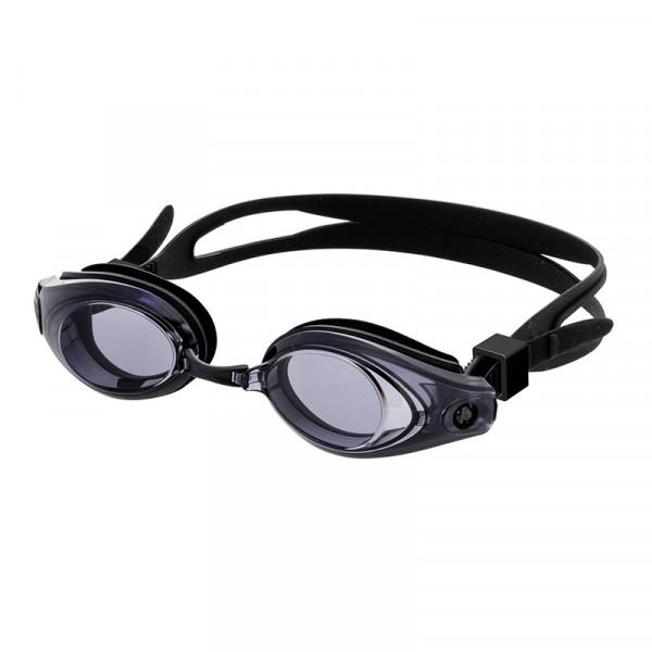 Schwimmbrille schwarz Antibeschlag  UV-Schutz