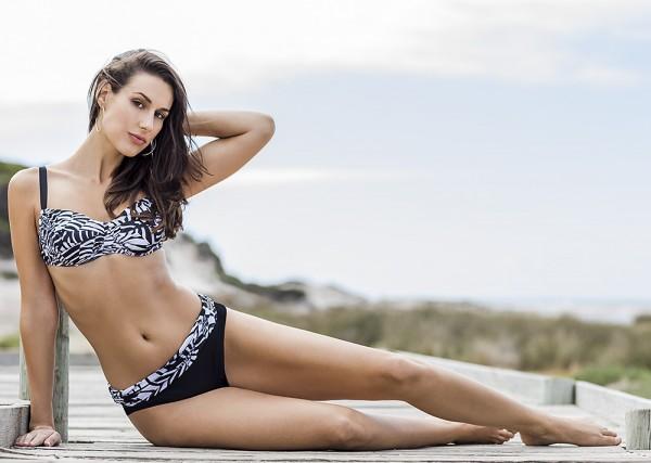 Bikinis Damen bunt öko