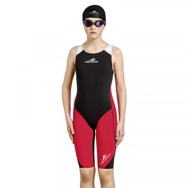 Schwimmanzug Mädchen Schwarz - sportlich