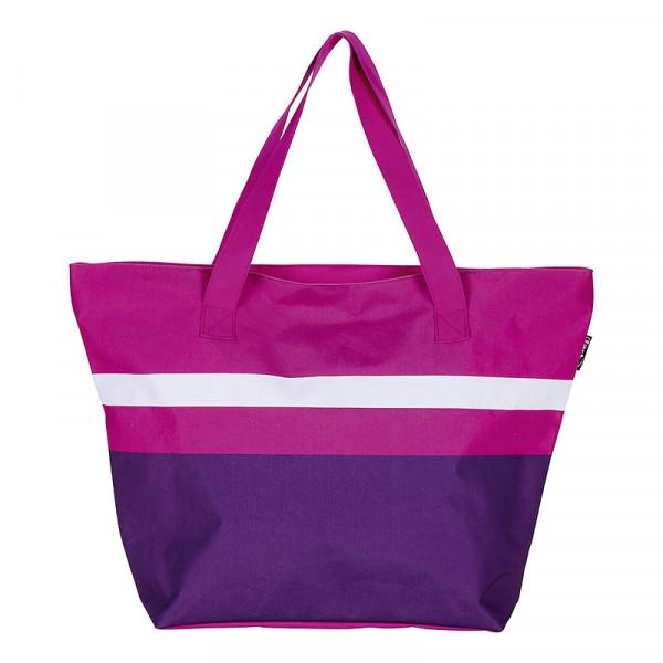 Tasche bunt rosa Streifen