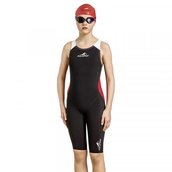 Schwimmanzug Mädchen rot