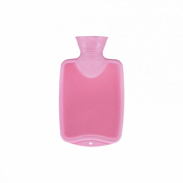 Wärmflasche 0,8 l rosa