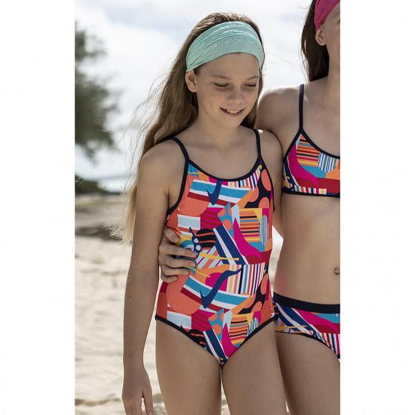 Badeanzug Mädchen Retro Style