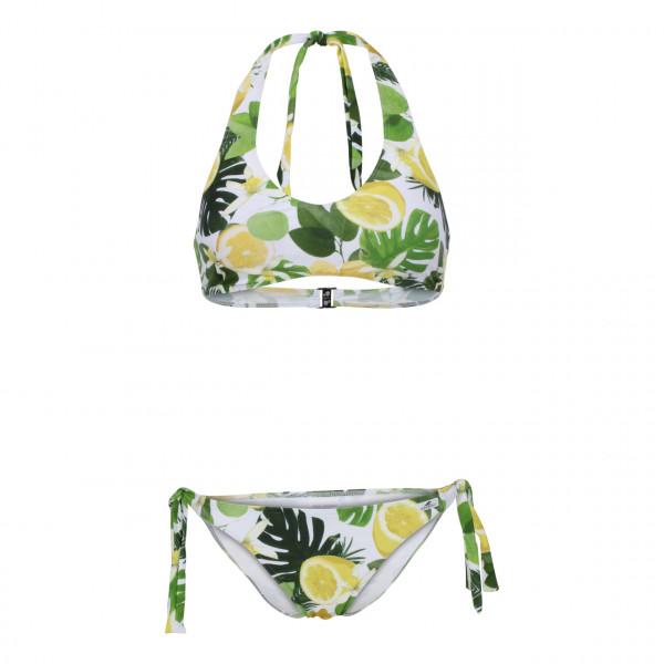 Bikini Damen tropic bunt