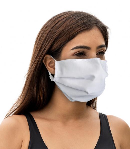 Maske wiederverwendbar strapazierfähig weiß