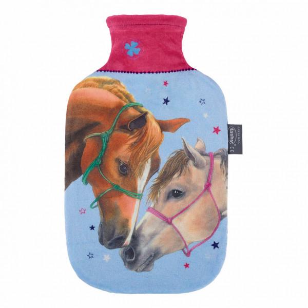 Wärmflaschge Bezug Pferdefreunde