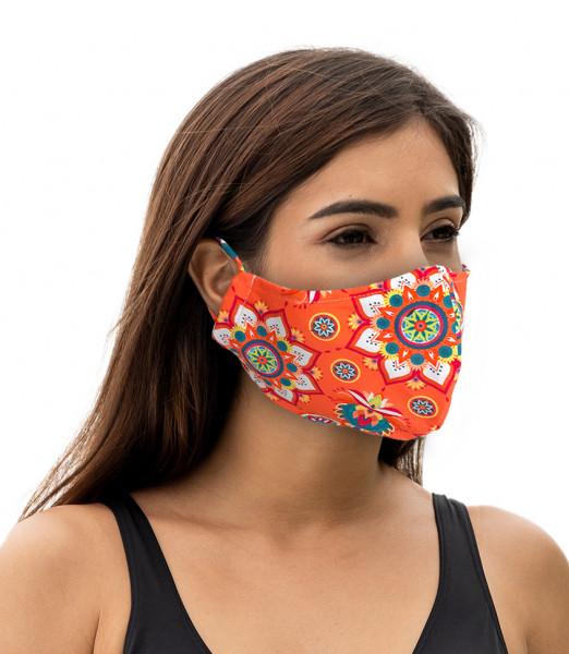 Maske versch. Designs 10 Stk.