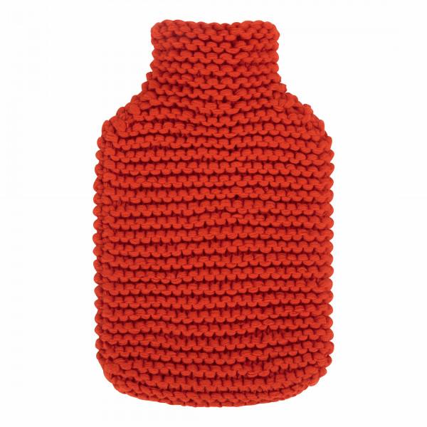 Wärmflasche 2,0 L mit Strickbezug