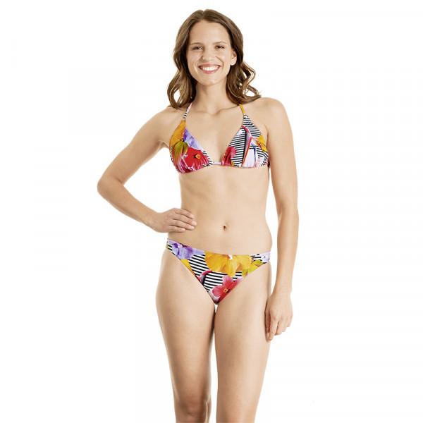 Bikini Damen bunt floral