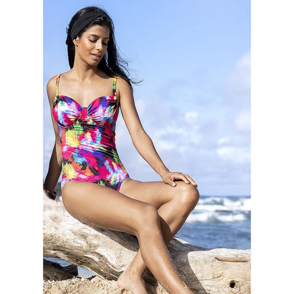 Badeanzug Damen Formbügel Multicolor