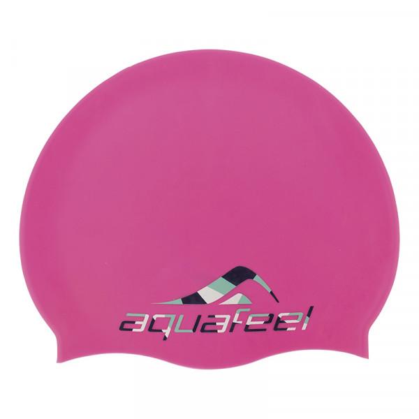 Badekappe Pink Silikon Schwimmsport