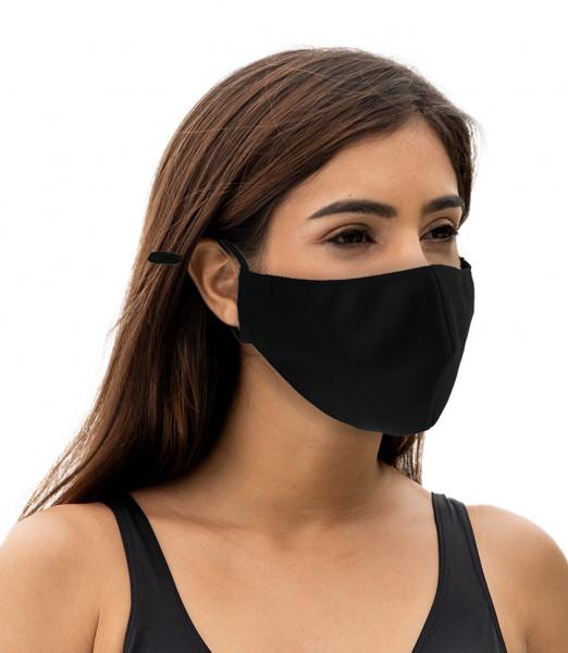 Maske schwarz zum binden 10 Stk. je VE
