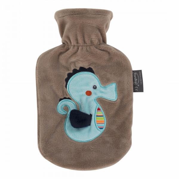 """Wärmflasche Seepferdchen """" Susi"""" 0,8 L"""