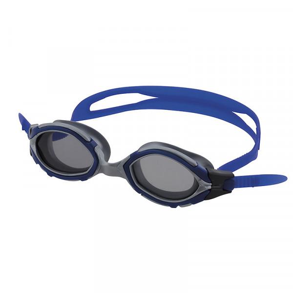 Schwimmbrille blau/getönt  UV-Schutz