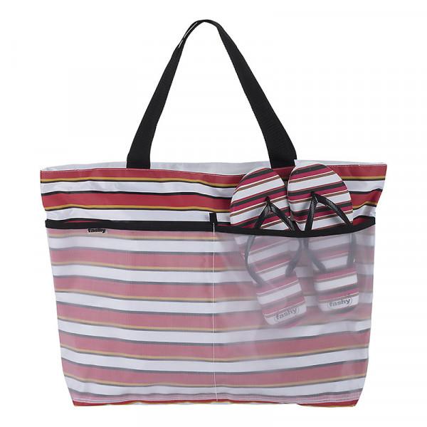 Strandtaschen Badetasche bunt Streifen