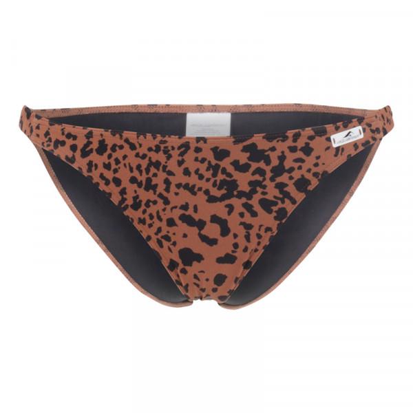 Bikini Hose Animal braun schwarz