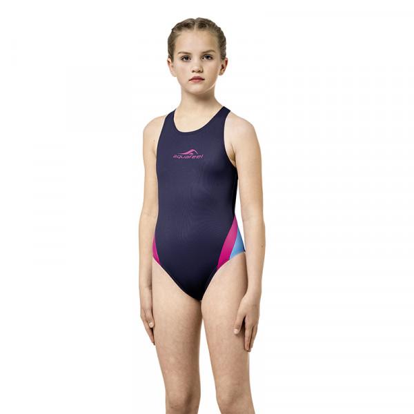 Badeanzug Mädchen Marine Sportiv