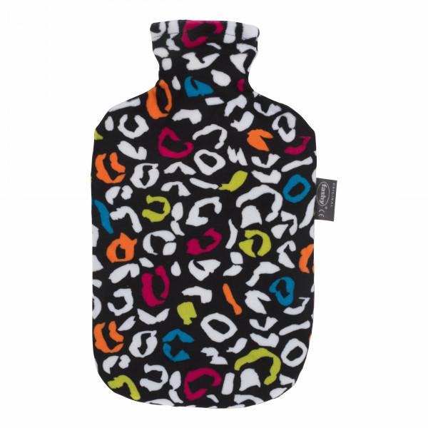 Wärmflasche 2,0 L Popart Animal bunt