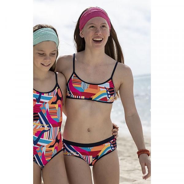 Bikini Mädchen Retro Style