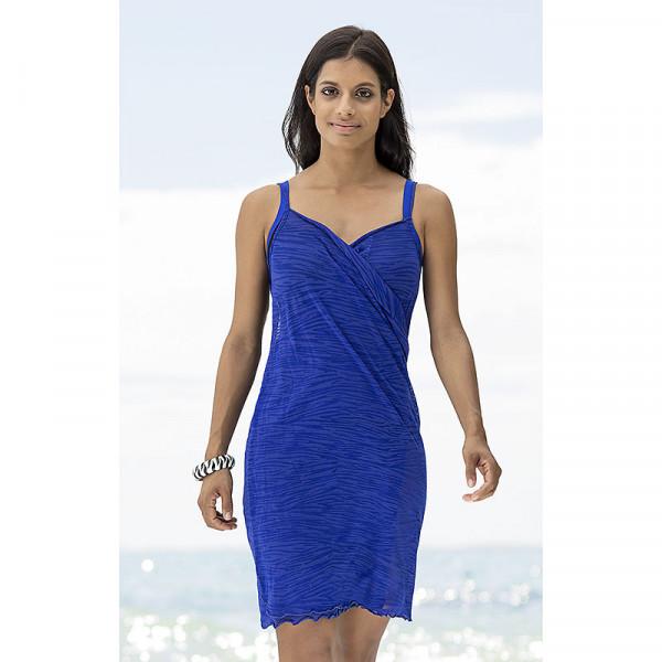Wickelkleid Damen Blau