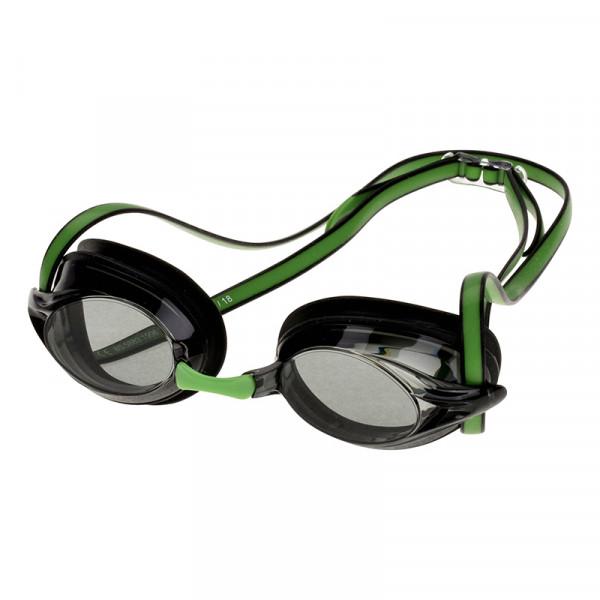 Schwimmbrille Antibeschlag UV-Schutz Grau/Rauch