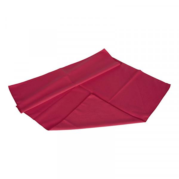 Sporthandtuch Rot Microfaser Schnelltrocknend