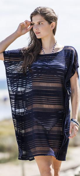 Strandkleid schwarz Damen