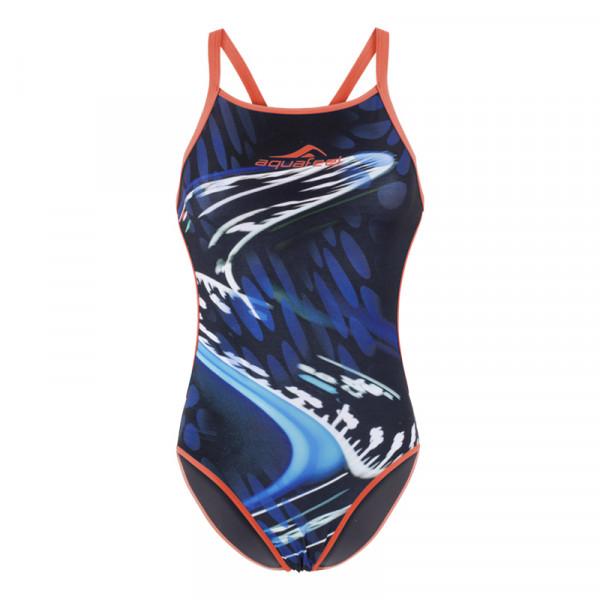 Badeanzug Damen sportiv multicolor