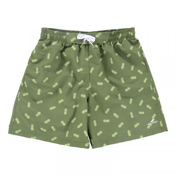 Badeshorts Jungen grün Innenslip