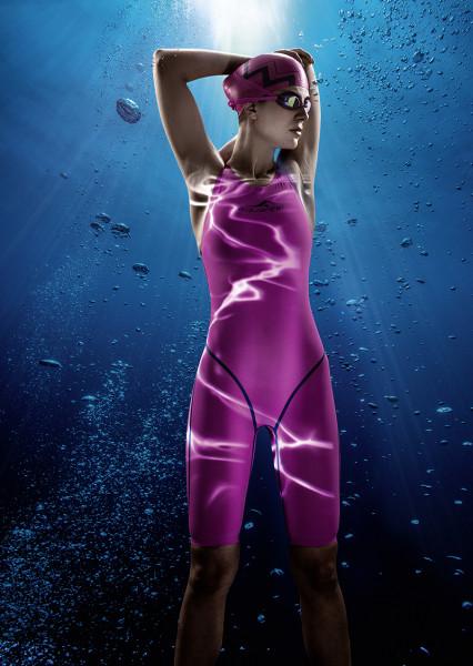 Schwimmanzug Damen Profi pink