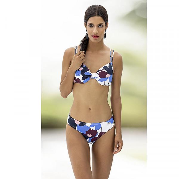 Bikini Damen Multi-Color blau