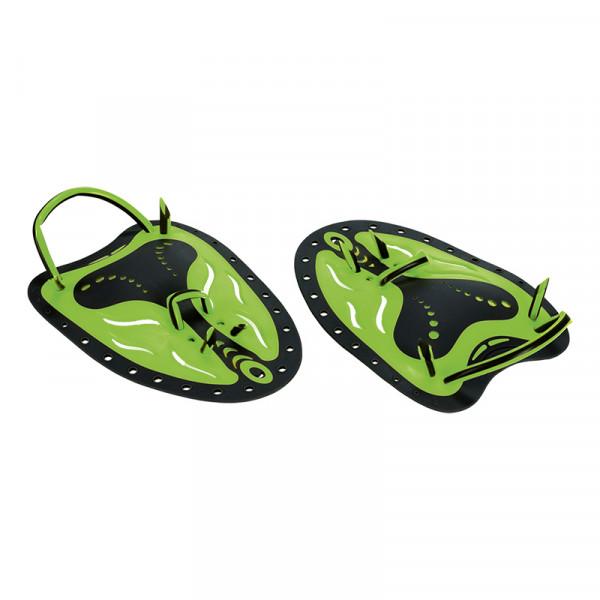 Paddles grün elastisch ergonomisch
