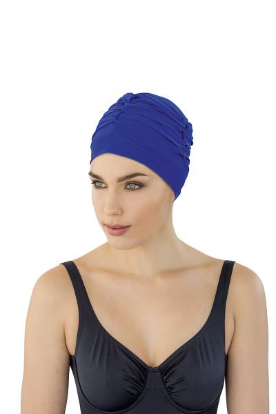 Badekappe Badehaube blau Damen